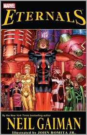 Eternals by Neil Gaiman. Issue 1-7 cover image