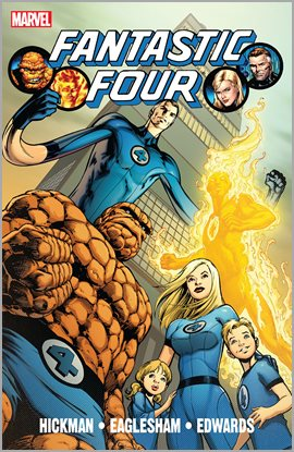 Cover image for Fantastic Four By Jonathan Hickman Vol. 1
