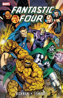 Cover image for Fantastic Four By Jonathan Hickman Vol. 3