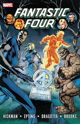 Cover image for Fantastic Four By Jonathan Hickman Vol. 4