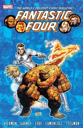 Cover image for Fantastic Four By Jonathan Hickman Vol. 6