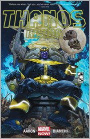 Thanos rising. Issue 1-5 cover image