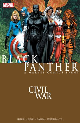 Cover image for Civil War: Black Panther
