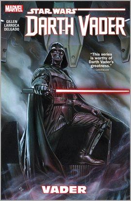Star Wars: Darth Vader, portada del libro