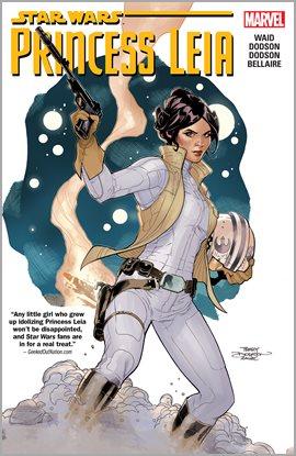 Star Wars: Princess Leia, portada del libro