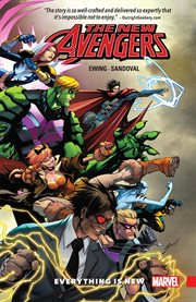The new Avengers A.I.M. Volume 1, issue 1-6, Everything is new cover image