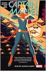 Captain Marvel. Volume 1, issue 1-5, Rise of Alpha Flight cover image