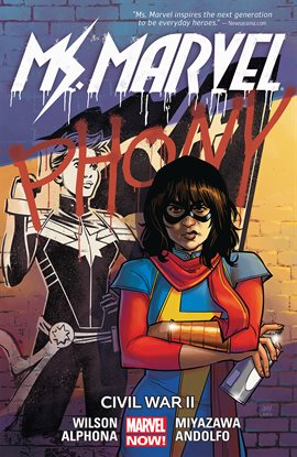 Cover image for Ms. Marvel Vol. 6: Civil War II