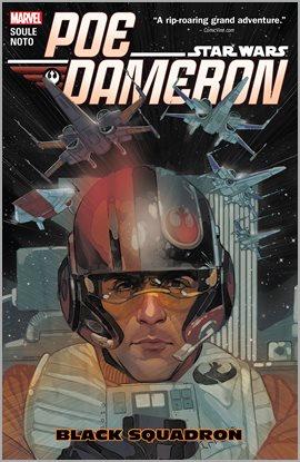 Star Wars: Poe Dameron Vol 1: Black Squadron, portada del libro