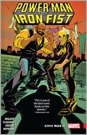 Power Man and Iron Fist. Volume 2, issue 6-9, Civil War II cover image