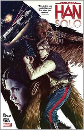 Star Wars: Han Solo, book cover