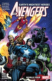The Avengers. Volume 2, issue 7-12, World tour cover image