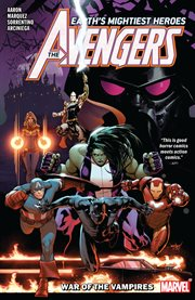 The Avengers. Volume 3, issue 13-17, War of the vampires cover image
