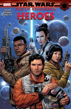 Cover image for Star Wars: Age of Resistance - Heroes