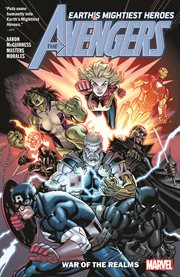 The Avengers. Volume 4, issue 18-21, War of the realms cover image