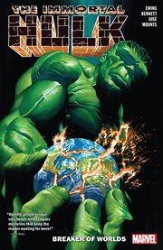 The immortal Hulk. Volume 5, issue 21-25, Breaker of worlds cover image
