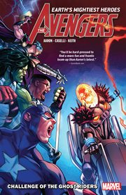 Avengers by jason aaron. Volume 5, issue 22-25 cover image