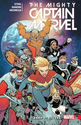 Cover image for The Mighty Captain Marvel Vol. 2: Band of Sisters