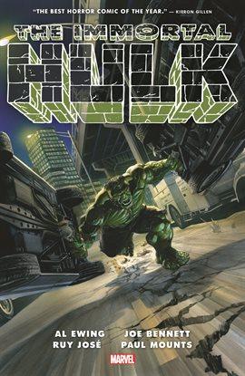 The Immortal Hulk Vol. 1 by Al Ewing Book Cover