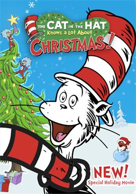 The Cat In The Hat Knows A Lot About Christmas!, book cover