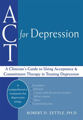 Cover image for ACT for Depression