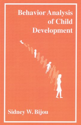 Cover image for Behavior Analysis of Child Development