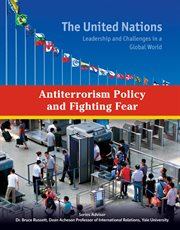 Antiterrorism policy and fighting fear cover image