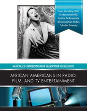 African-Americans in radio, film, and TV entertainment cover image