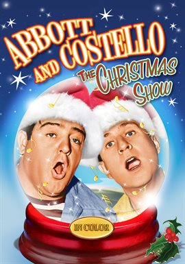 Abbott And Costello: The Christmas Show IN COLOR image cover