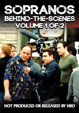 Cover image for Sopranos Behind-The-Scenes: Volume 1