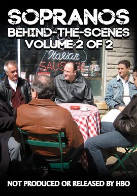 Cover image for Sopranos Behind-The-Scenes: Volume 2