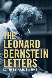 The Leonard Bernstein letters cover image