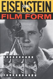 Film form : essays in film theory cover image