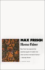 Homo Faber : a report cover image