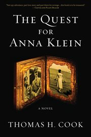The quest for Anna Klein : an Otto Penzler book cover image