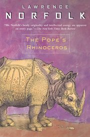 The Pope's rhinoceros : a novel cover image
