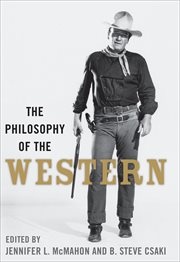 The philosophy of the western cover image