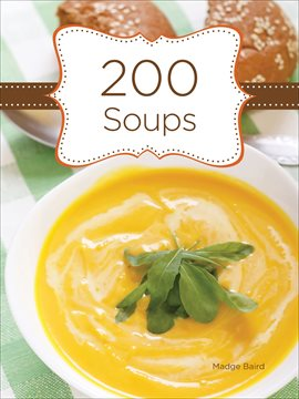 Cover image for 200 Soups