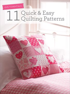 Cover image for 11 Quick & Easy Quilting Patterns