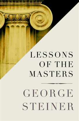 Cover image for Lessons of the Masters