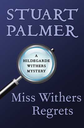 Cover image for Miss Withers Regrets