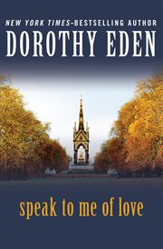 Speak to me of love cover image