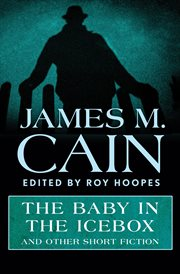 The baby in the icebox and other short fiction cover image
