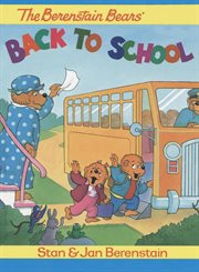 Berenstain bears back to school cover image