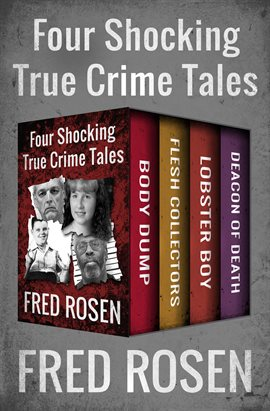 Cover image for Four Shocking True Crime Tales
