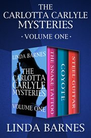 The Carlotta Carlyle Mysteries