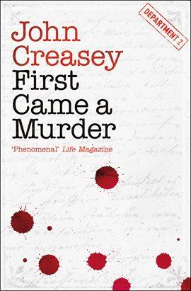 First Came a Murder