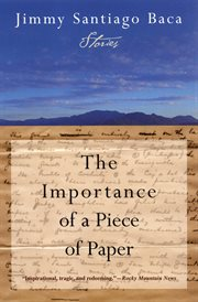 The importance of a piece of paper cover image