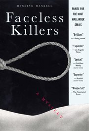 Faceless killers : a mystery cover image