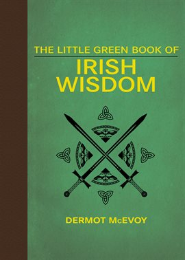 The Little Green Book of Irish Wisdom, book cover